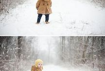 Zimné detské foto