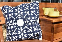 Embroidered Cushions / Kobomo designed range of high quality handmade cushions for your living spaces.