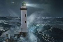 a light in a storm