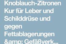 Knoblauch/Zitronen-Kur