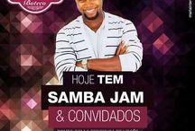 Samba Jam / Grupo Musical. ___________________________________ Contato da Maria Interativa: Portfólio online:Gestão em Mídias Digitais Contato:(71) 99204-1933 What's App