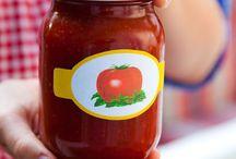Przetwory / dżemy, ketchupy, sałatki, wędliny i inne smakołyki które możesz zrobić sama