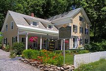 Places I love in New England / I love to visit The Ira Allen House in Manchester, Vermont...home cooked breakfasts, cozy beds, and great activities year round. Fall foliage is a favorite time, but summer and winter are both great too.