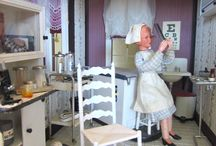 Miracles of Medicine in Miniature / Exhibit of doctors' offices and medical equipment, all in miniature at the Museum of Miniature Houses.  The exhibit runs through the end of September 2016.