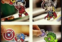 Superheroes & Villians ! / by Tazza