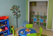 Playroom decorating