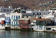 #MYKONOS / Probablemente la isla griega más famosa. Sus playas son elegidas por miles de turistas todos los años.