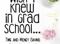 Grad school / Graduate school, masters degree, PhD, doctorate, grad degree
