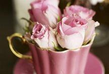 Λουλουδια σε φλιτζάνια