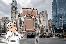 El Papa en EEUU / Información sobre la visita del Papa a Washinton, Nurva York y Filadelfia