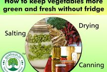 Keep Vegetable more Green and Fresh