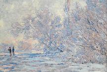 Obras de Claude Monet  / Demais pintores imprecionistas.