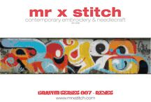 Mr X Stitch Patterns / For immediate download at the Mr X Stitch Pattern Foundry on Etsy!