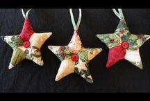 Vánoční drobnosti hvězda