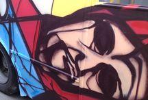 grafitti bus