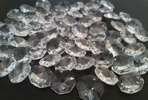 Wedding Crystals / Elegant crystals for Weddings, parties, Christening's etc