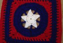 avengers crochet blanket