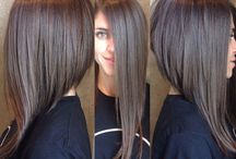 Beautiful hair / Long bob