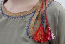Designer neck for women suits