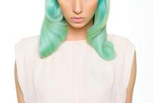 Green / Blue Hair