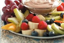 fruit dips / by Barbara Crowell