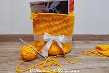 Crochet basket HANDMADE