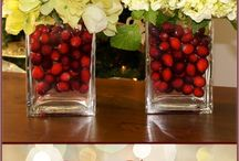 Holiday Centerpieces / Ideas for centerpieces for a holiday party
