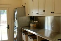 laundry room dreaming / Laundry room/mud room.