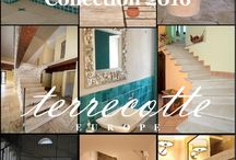Collection 2016 / Our collection consists of handmade Italian terracotta products.  For 2016 we have compiled an interesting set of wall and floor tiling and building materials for renovation and restauration.  Any desired size, even the ancient Roman sizes are available. Our joint Italian manufacturers provide a wide variety of shapes and finishes and in specifically required sizes to fit your wishes or architectural designs.