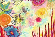 art journaling 6 / art journaling#mixed media#collage#inspiration