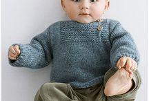 Modèles de pull de bébé