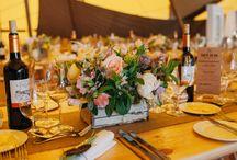 Teepee . Tipi . Wedding Flowers