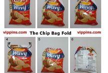 c hippie bag fold