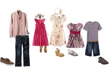 What to Wear Family Spring / Family Portrait Clothing Ideas For Spring