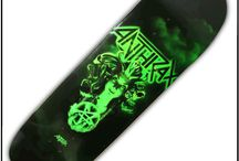 Skateboarding Stuff / Music related skate decks & wheels and other rad stuff! / by Backstreet Merch