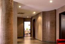 セニデコ・アバナ施工 / コテ押さえの落ち着いた磨き漆喰