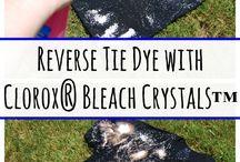 Reverse Tie Dye