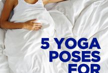 calming yoga poses for sleep
