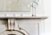 Mantels / fireplace styling