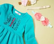 Twincessities on Zulily / Winter 2014/2015 collection on Zulily. Lap and flutter dresses, Ruffle Pants, Tunics and more!