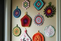 crochet wall