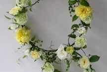 ブーケ  リース bouquet wreath / ys floral deco
