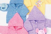 Knitting / Babies hoodie