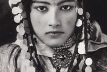 The women, Imazighen  from Morocco and other parts of Africa / Berber women are a tribe from North Africa also called Imazighen. They are found in Morocco and other parts of Africa.