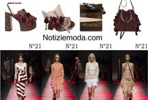 N°21 / N°21 collezione e catalogo primavera estate e autunno inverno abiti abbigliamento accessori scarpe borse sfilata donna.