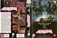 80's / 90's VHS sleeves / Scanned memories