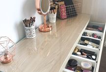 Makeup and clothes storage