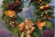 Świąteczne wianki na Boże Narodzenie