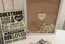 wedding souvenir & guest book