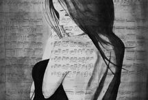 my artworks ink & paper